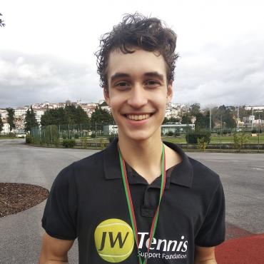 Dawid Lewandowski najlepszy w grze pojedynczej i podwójnej (w parze z Maxem Pade) w portugalskim Coimbra TE12.